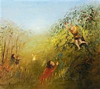 boy in the apple tree by david boyd