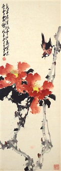 flowers and birds by zhao shaoang