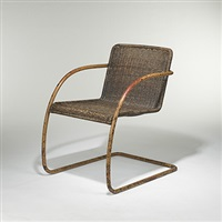 cantilever chair by lilly reich and ludwig mies van der rohe