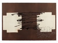 suite 63 x 90 by antoni tàpies