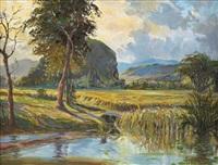 landscape by khalil ibrahim
