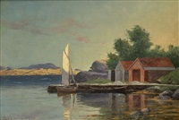 småbåthavn by lars laurits larsen haaland