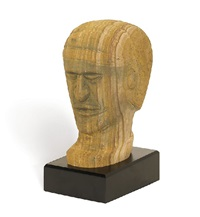untitled (head of an ancestral figure) by big john dodo