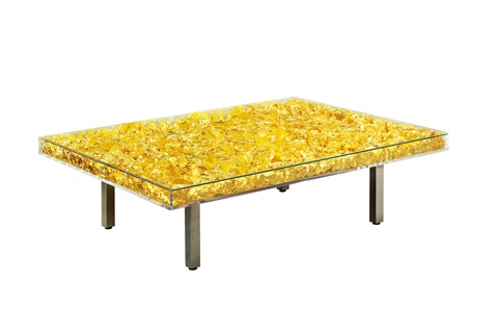 Table dor by yves klein on artnet for Table yves klein
