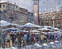 piazza delle erbe by nino consolaro