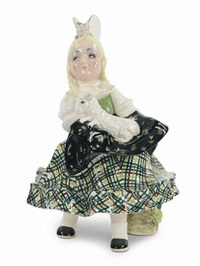 bimba con pecorella by sandro vacchetti