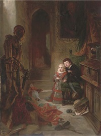 the ghost hunters by wilhelm von lindenschmit the younger