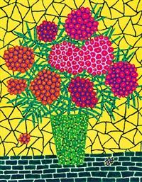 flower by yayoi kusama