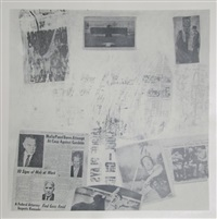 features from currents, #72 by robert rauschenberg