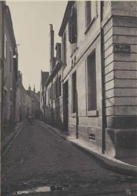 rue descartes, tours by ilse bing