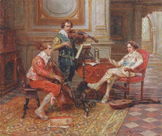 a musical trio by alex de andries
