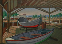boat shed by james bonelli