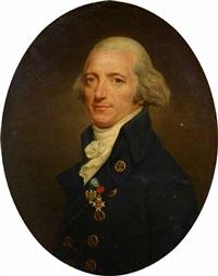 portrait du général gaultier de murnan (1748-1796) portant l'ordre des cincinati by joseph boze