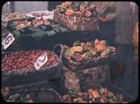 fruits et légumes dans un bazar by jules gervais courtellement