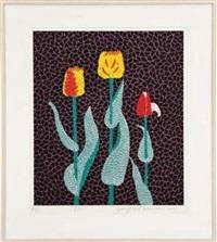 tulips by yayoi kusama
