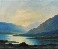 evening, near the black valley, kerry by douglas alexander