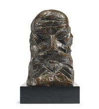 study for 'head of moses