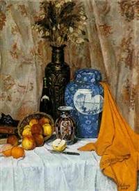 le vase bleu by georges van extergem