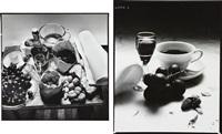 still life (2 works) by irving penn