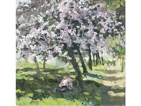 under the blossom tree by sherree valentine daines