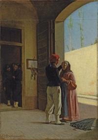 le retour du soldat by cesare bartolena