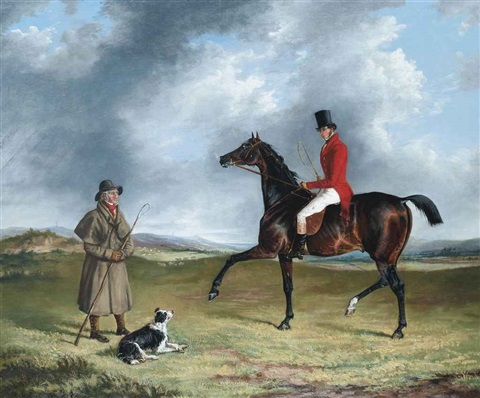 a sportsman thrown out enquiring of a shepherd by george henry laporte