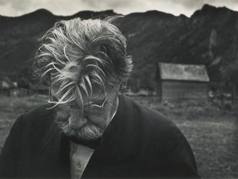 dr. albert schweitzer, aspen, colorado, and mad eyes, haiti (2 works from w. eugene smith: a portfolio of ten photographs) by w. eugene smith