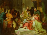 the death of a king by wilhelm rögge the elder
