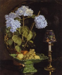 hydrangeas by mary elizabeth atkins