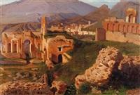 il teatro greco di taormina (2 works) by alessandro la volpe
