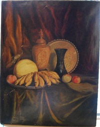 nature morte aux bananes by george jackson flemwell