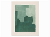 composition in green by serge poliakoff