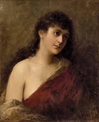 portrait einer jungen dame by heinrich ruland
