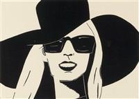 black hat (nicole) by alex katz