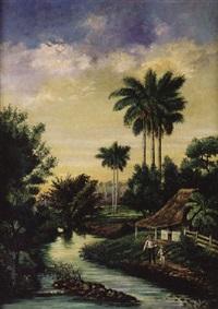 paisaje cubano by miguel arias