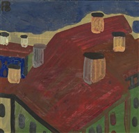 roofs of vyborgskaya storona by richard vasmi