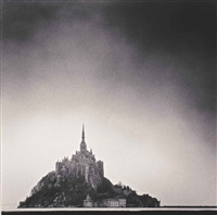 mont saint michel, normandy by michael kenna