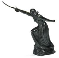 woman with sword by stella elkins tyler