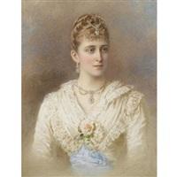 portrait of grand duchess elizaveta fedorovna by stephan fedorovich alexandrovski
