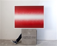 shadow iii/red by anish kapoor