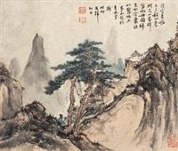 秋山探幽 by wen jia