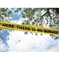there is no border here by shilpa gupta