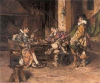a game of chess by maximo juderias caballero