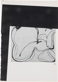 untitled (99) by wade guyton