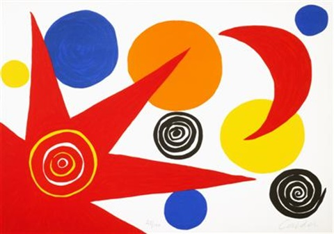 la memoire elementare set of 11 by alexander calder
