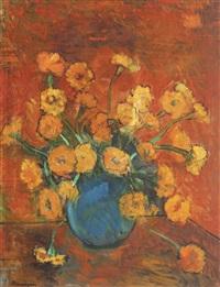 marigolds by marius bunescu