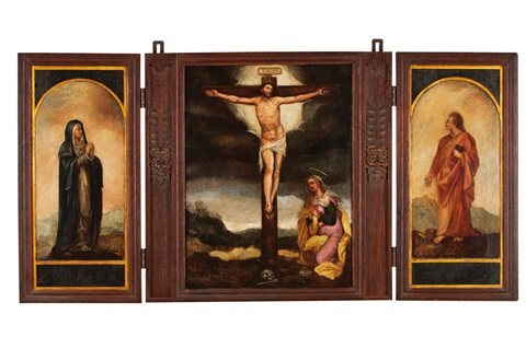 untitled triptych by portuguese school 16