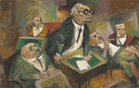 the hearing by william gropper