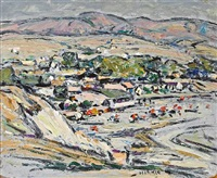 the village - laguna by clarence hinkle