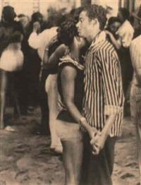 couple dansant by leon levinstein